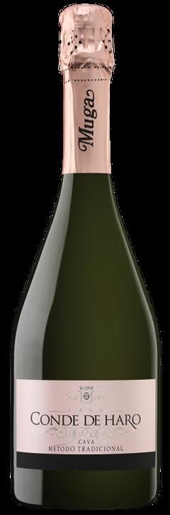哈罗卡瓦桃红起泡葡萄酒 (Cava Conde de Haro Rosé)
