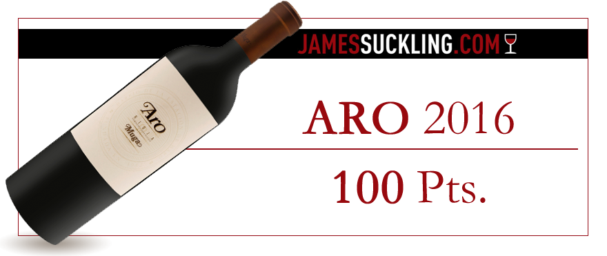 ARO 2016, from Bodega Muga, rated 100 points by Suckling